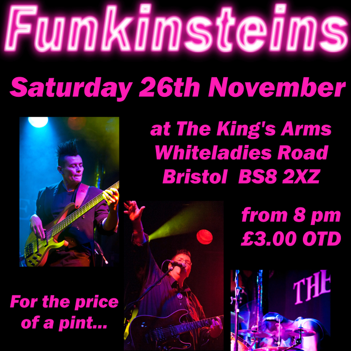 The Funkinsteins at the Kings Arms