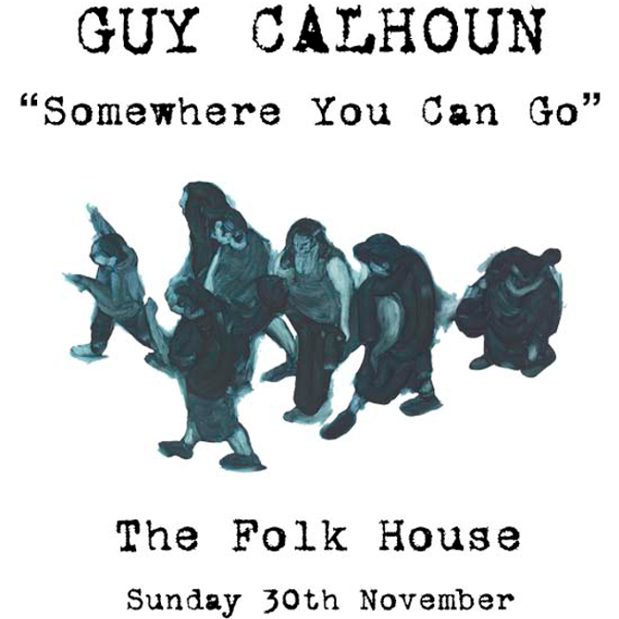 Guy Calhoun album launch